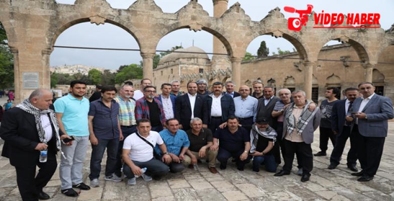 Başkanlar Şanlıurfa'daki Değişime Hayran Kaldı