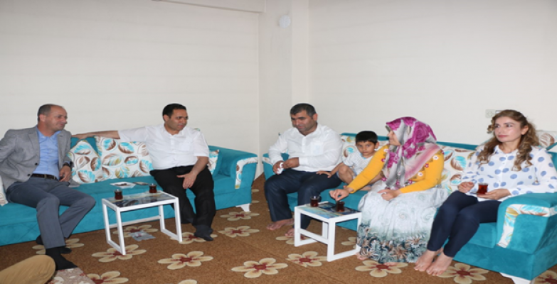 Bilici, 11 yaşındaki şehit Günak'ın ailesiyle iftar açtı