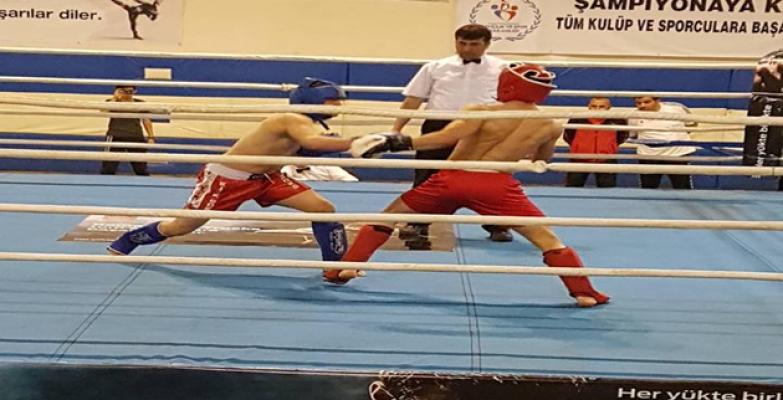 Kickboks Takımı Mersin'de 7 Şampiyonluk Aldı