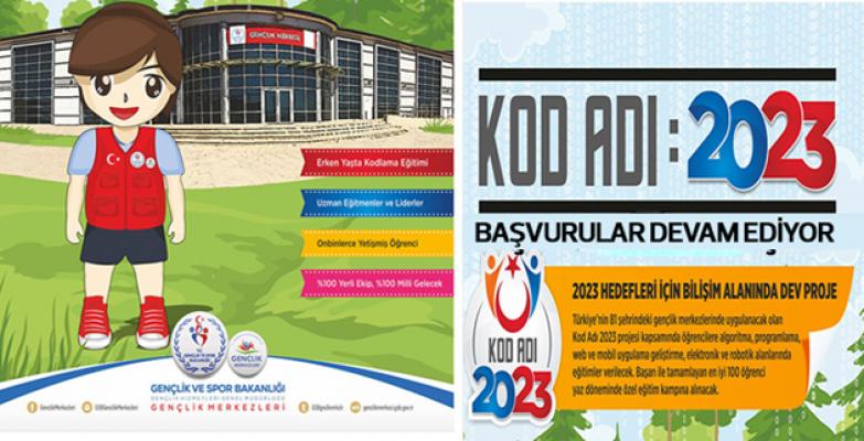 """""""KODADI2023 Geleceğin Bilişim Uzmanları Yetişiyor"""" Projesi Başladı"""