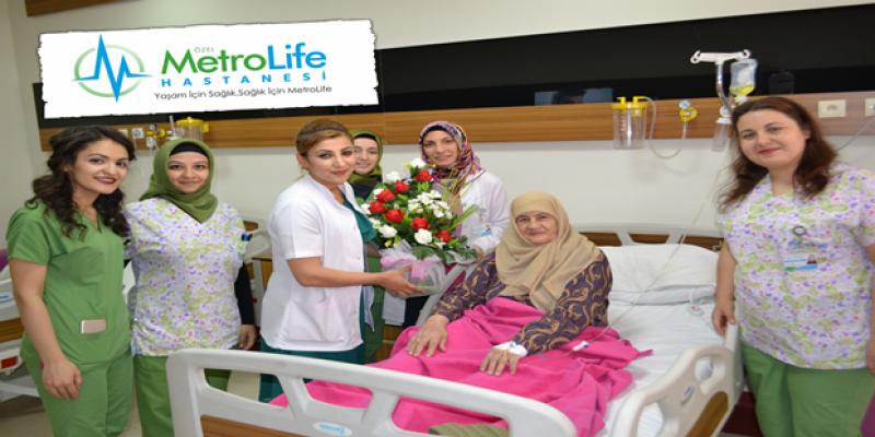 Metrolife Hastanesi Anneleri unutmadı