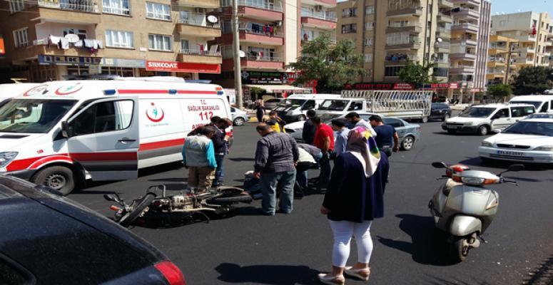 Şanlıurfa'da kaza, 1 yaralı