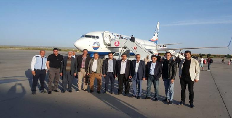 Şanlıurfalı gazeteciler Çanakkale'de