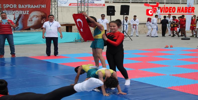 Urfa'da 19 Mayıs Gençlik ve Spor Bayramı Kutlandı