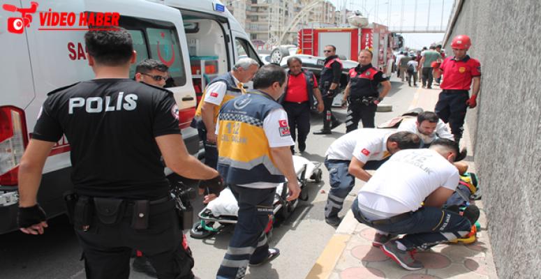 Urfa'da kaza, 2 yaralı