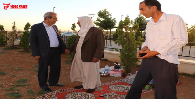 Başkan Demirkol, Hasta Yakınlarıyla Bir Araya Geldi