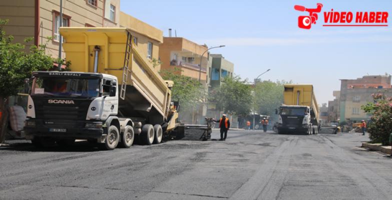 Büyükşehir Eyyübiye'de Mahalle Yollarını Güçlendiriyor