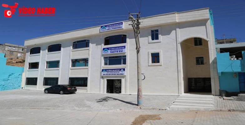 Dede Osman Çok Amaçlı Salon Açılışa Hazırlanıyor