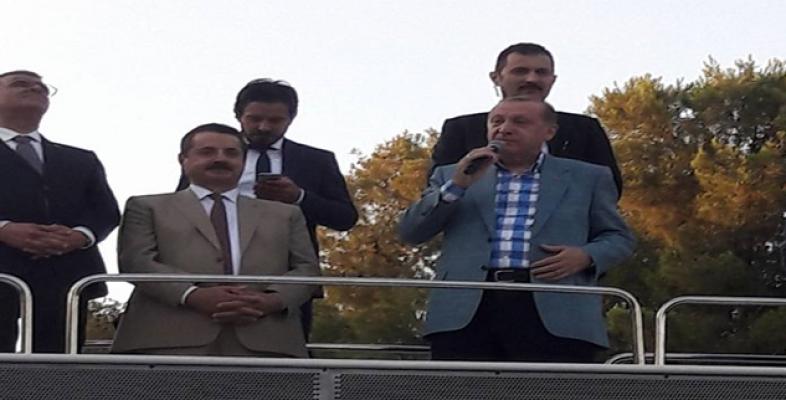 Erdoğan, Akçakale'de sert konuştu