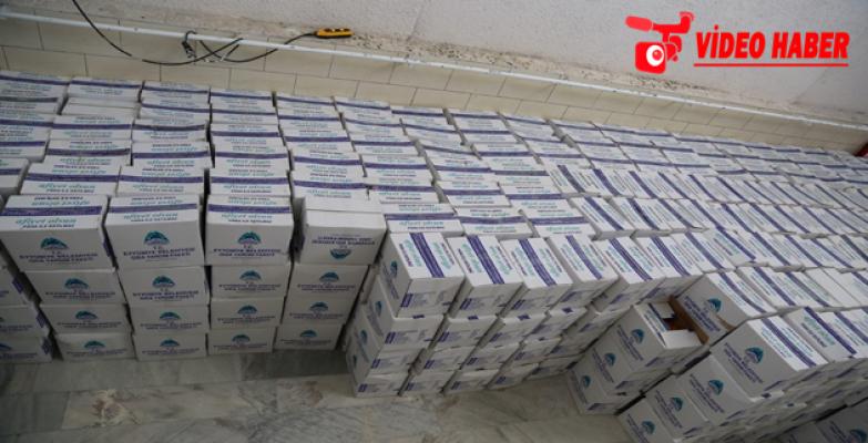 Eyyübiye Belediyesinden Aşevine Bin Adet Gıda Paketi Yardımı