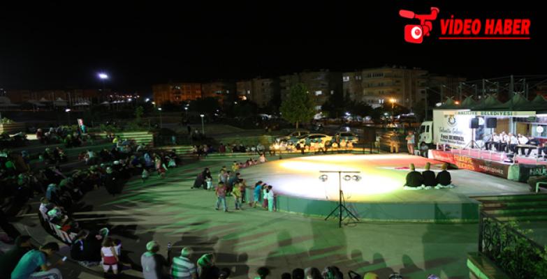 Haliliye'de, İlahi Konseri Ve Sema Gösterisi