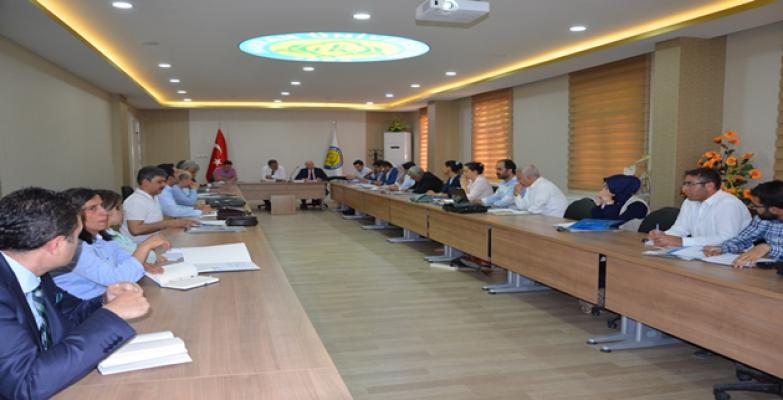 Harran Üniversitesinde Göç Politikaları 2017 Çalıştayı