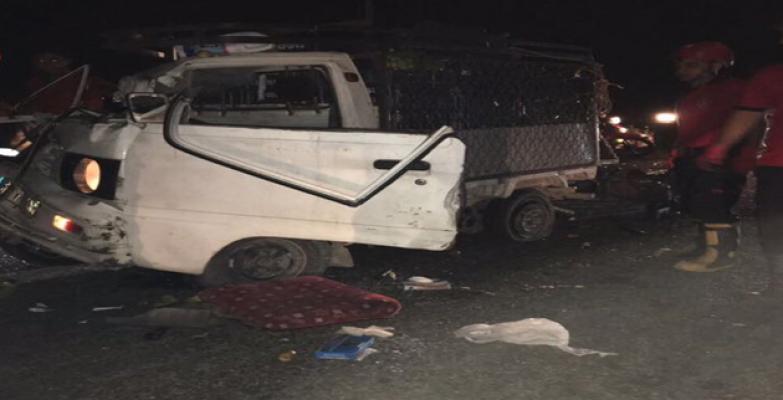 Harran yol çatında kaza, 1 ölü