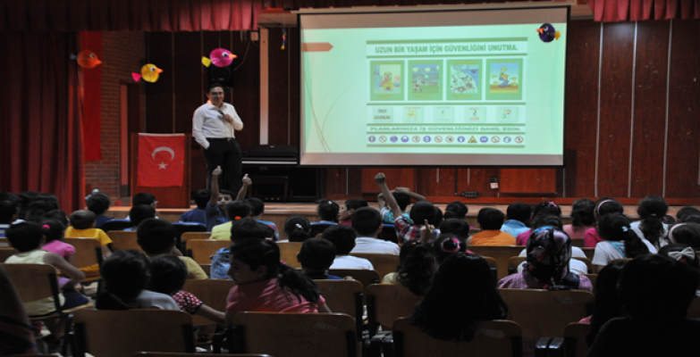 Şanlıurfa SGK'dan Miniklere İş Sağlığı Eğitimi