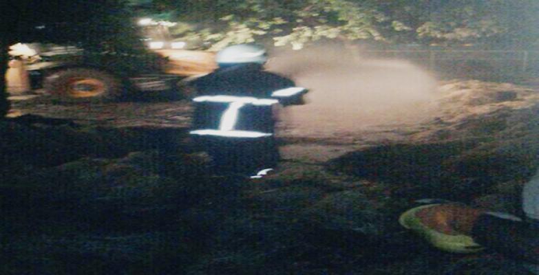 Suruç'ta  çiftlik yangını