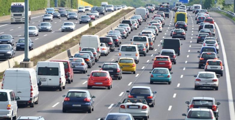 Trafikte inreraktif uyarı