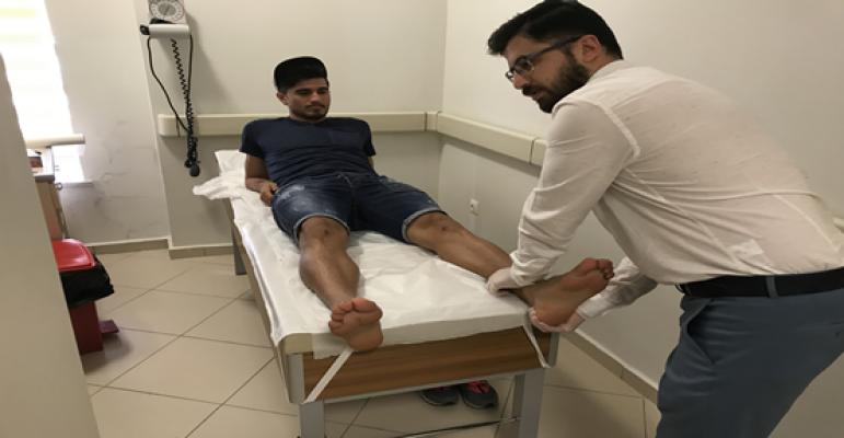 Urfa'da Spor hekimliği polikliniği hizmet vermeye başladı