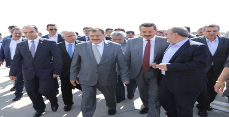 Urfa' İki Bakanı Ağırlıyor