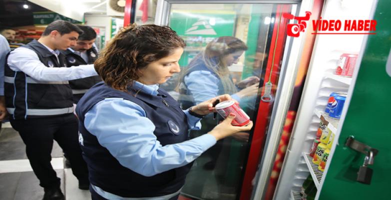 Zabıta'dan Gıda Satışı Yapan İşyerlerine Gece Denetimi