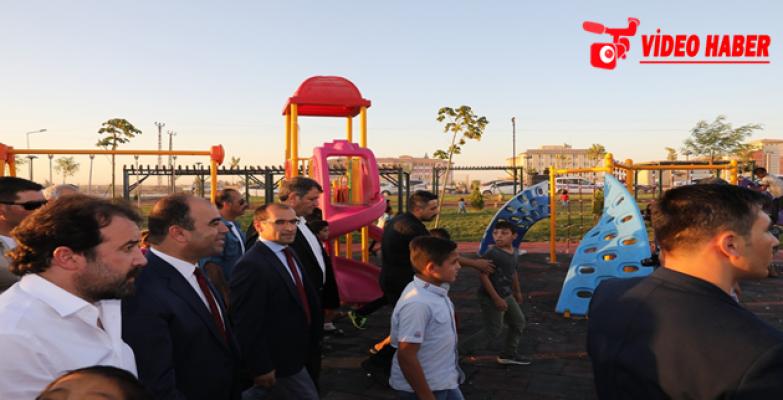 Akçakale Kent Parkının Açılışı Gerçekleşti
