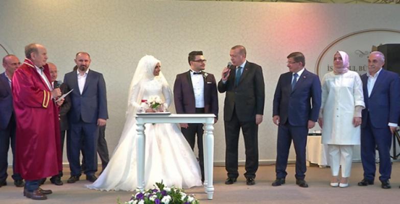 Cumhurbaşkanı Erdoğan Ve Bakan Fakıbaba Şefkatoğlu'nun Düğün Törenine Katıldı