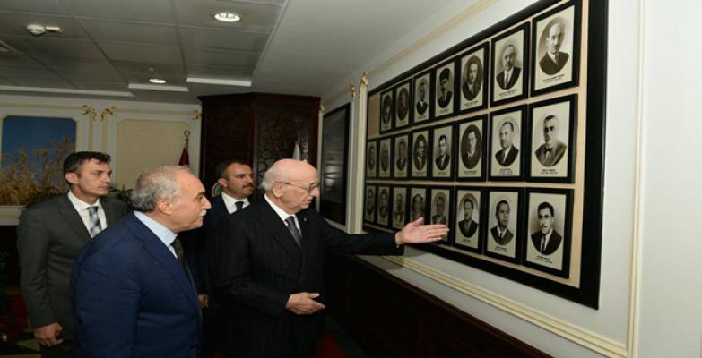 Meclis Başkanından Fakıbaba'ya Tebrik Ziyareti