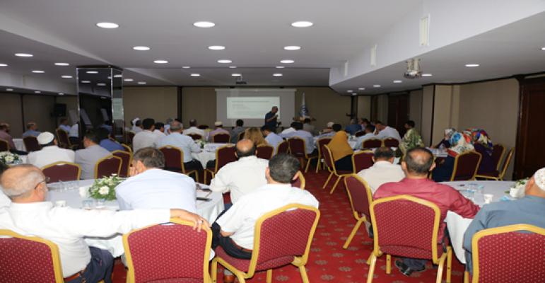 Müdür Bilici, Mültecilerin Hak ve Hizmetlere Erişim Çalıştayına katıldı