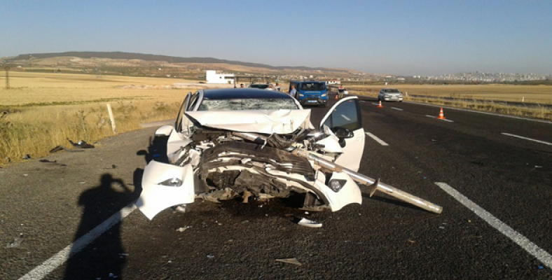 Şanlıurfa- Bozova yolunda trafik kazası