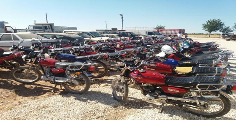 Urfa'da Büyük Motosiklet Operasyonu