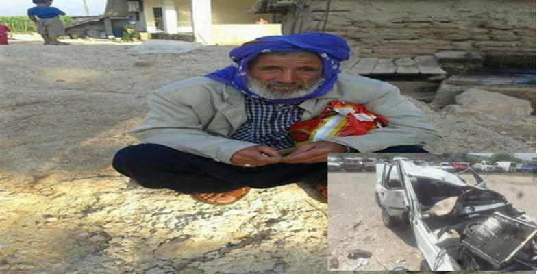 Urfa'da muhtarın babası kazada öldü