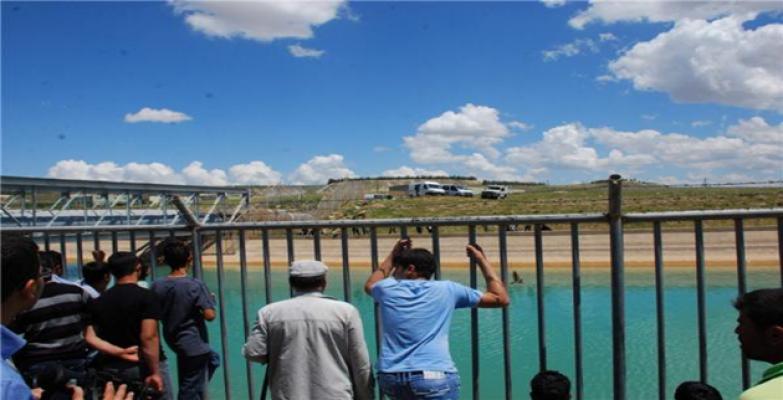 Urfa'da Sulama Kanalına Giren Suriyeli Kayboldu