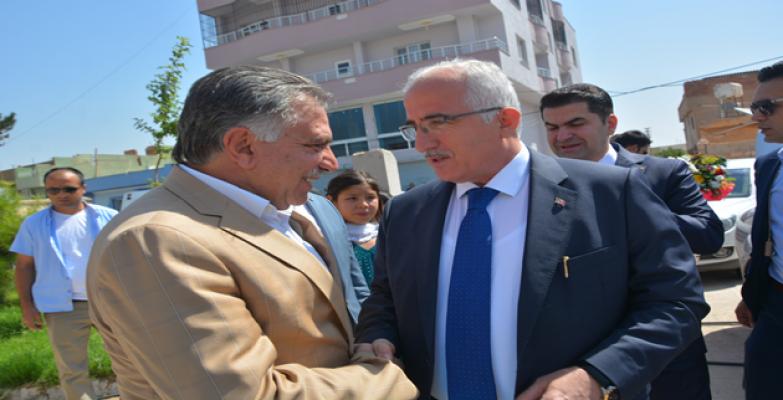 Vali Tuna Ceylanpınar Ve Viranşehir'le Vedalaştı