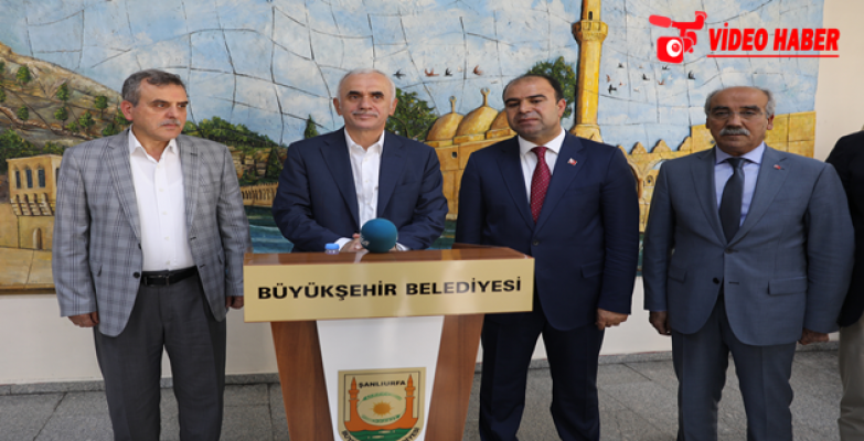 AK Parti Genel Başkan Yardımcısı Kaya'dan Şanlıurfa'da