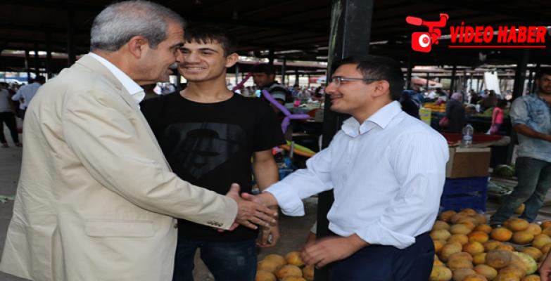 Başkan Demirkol, Pazar Esnafı Ve Vatandaşlarla Bir Araya Geldi