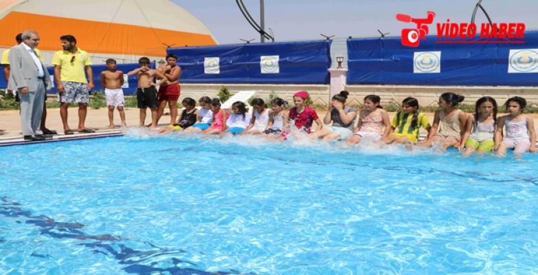 Bu Havuzlarda Milli Sporcular Yetişecek