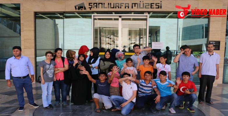 Büyükşehir'den Engellilere Özel Müze Gezintisi