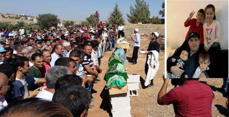 Hayatını Kaybedenler Halfeti'de Son Yolculuğuna Uğurladı