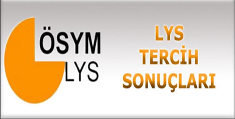 LYS Tercih Sonuçları Açıklandı