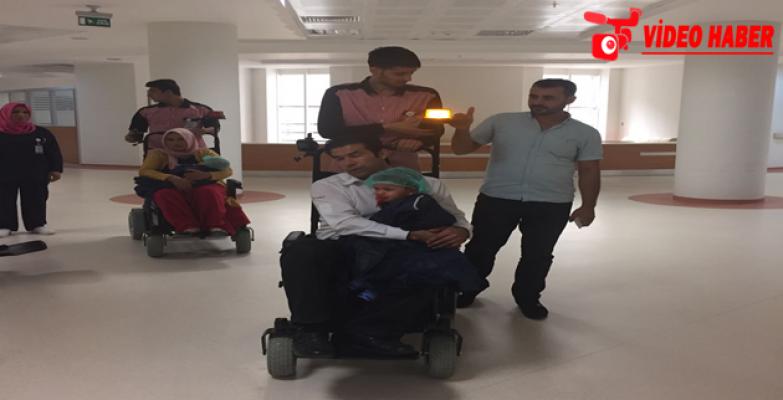 Şanlıurfa'da Hastalar Akülü Araç İle Taşınıyor