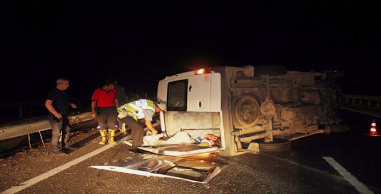 Şanlıurfa- Hilvan Yolunda Kaza, 18 Yaralı