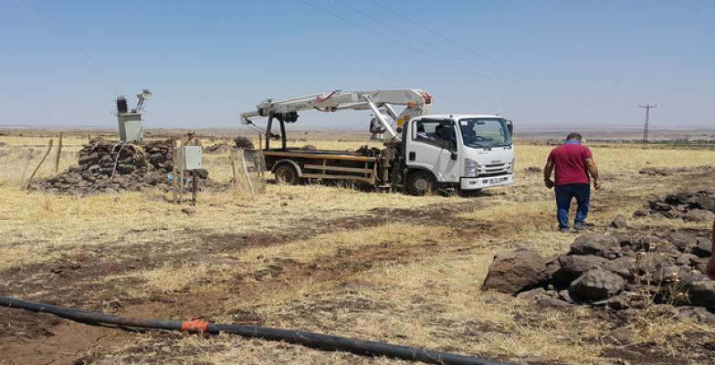 Urfa'da Kaçak Mobil Trafo Ele Geçirildi