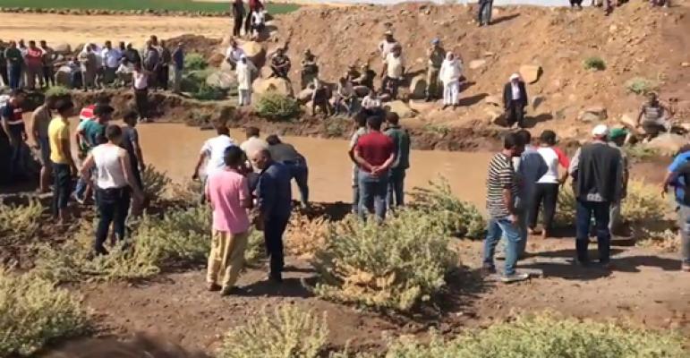 Viranşehir'de 3 Çocuk Tahliye Kanalında Boğuldu