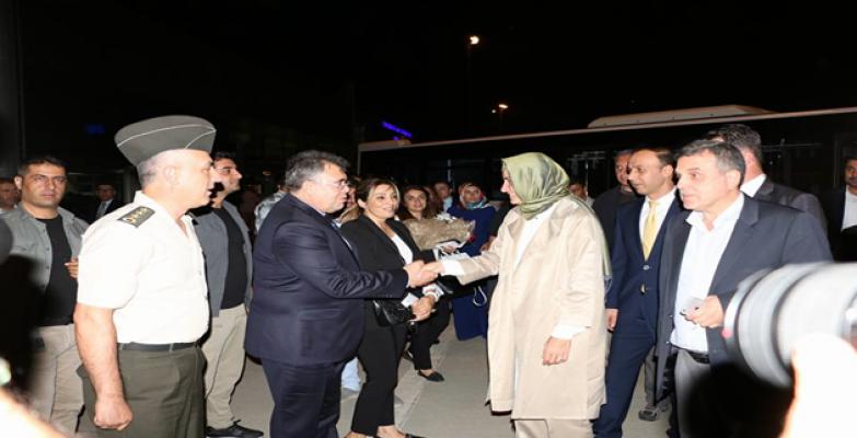 Aile Ve Sosyal Politikalar Bakanı Fatma Betül Sayan Urfa'da