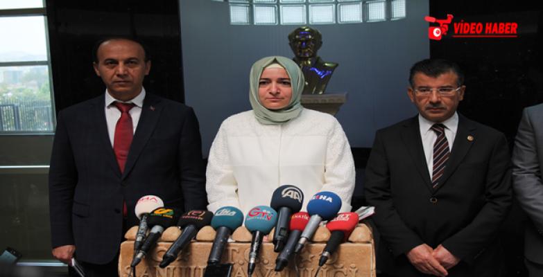 Aile ve Sosyal Politikalar Bakanı Kaya, Şanlıurfa Valiliğini ziyaret etti