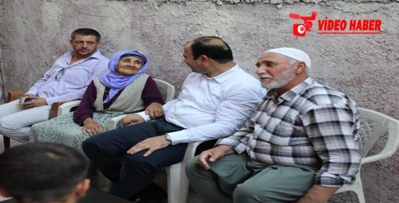 Baskan Çiftçi'den Vatandaşlara Evlerinde Bayram Ziyareti