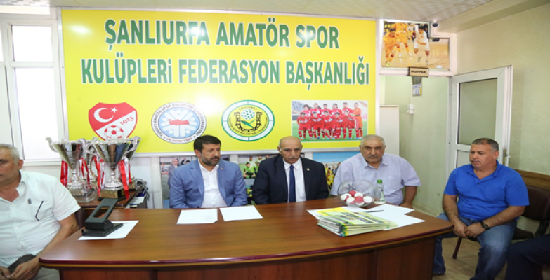 Eyyübiye Belediyesinden Amatör Kulüplere Büyük Destek