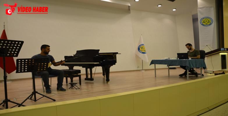 HRÜ Resim İş Ve Müzik Öğretmenliği Özel Yetenek Sınavları Başladı