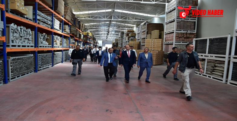 OSB Yönetimi Mobilya Fabrikasında Toplandı
