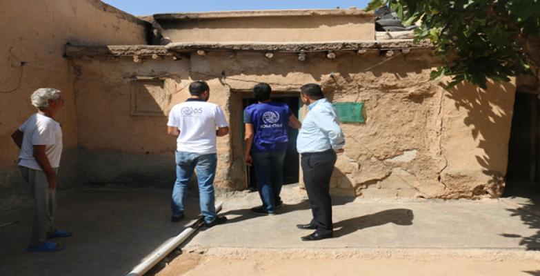 Uluslararası Göç Örgütünce 300 Ev Onarılacak