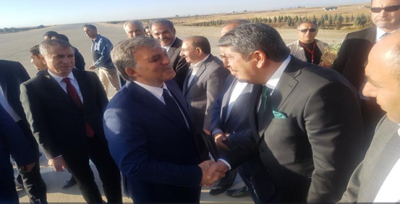 Abdullah Gül Urfa'ya geldi